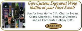 custom engraved wine bottles