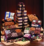 custom gourmet corporate gifts towers