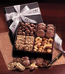 custom gourmet corporate gift boxes with nuts
