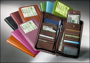 Custom Logo Leather Passport Cases